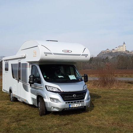 Profi test A714 G vzimě Caravan