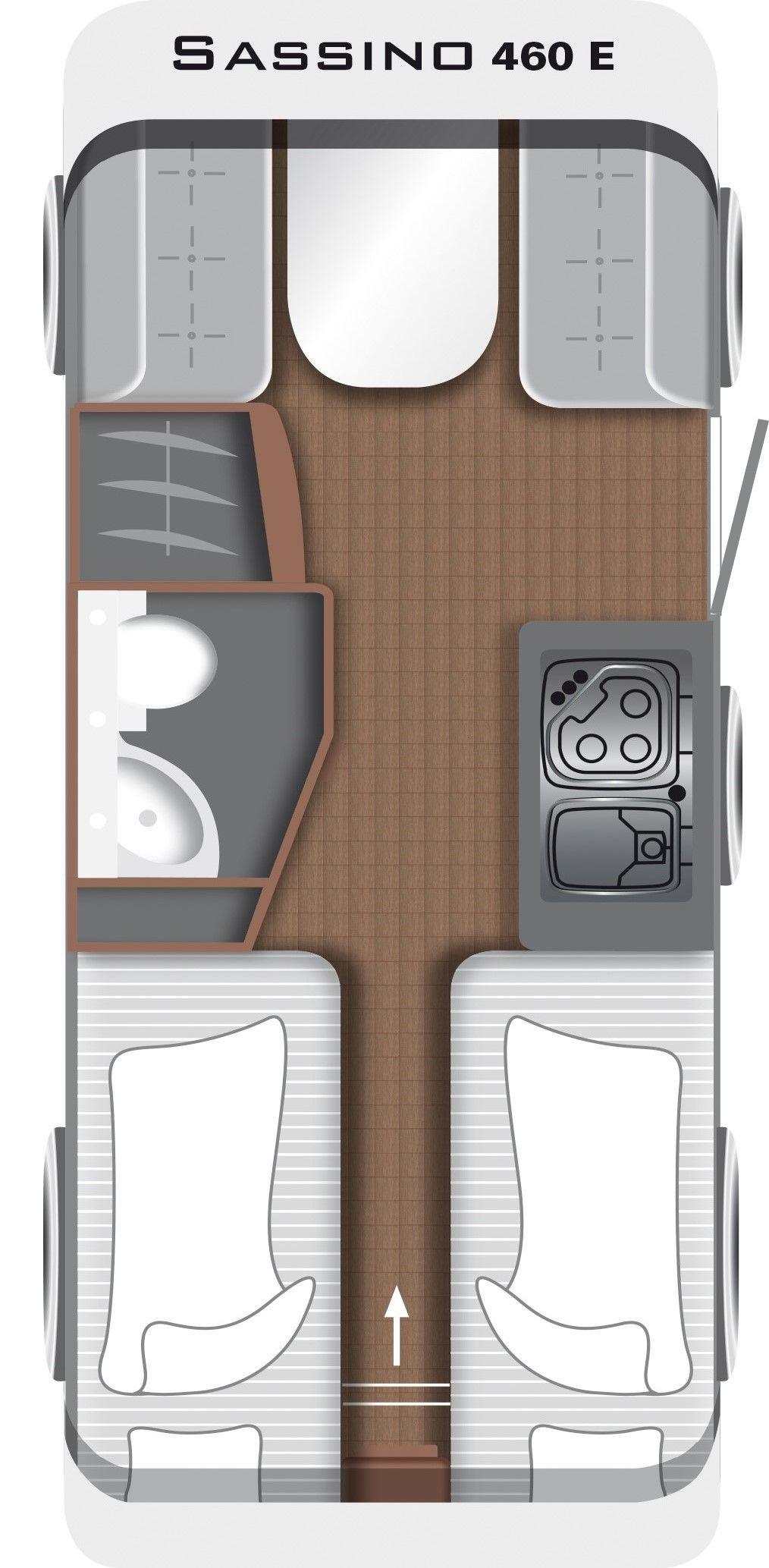 Sassino 460 E